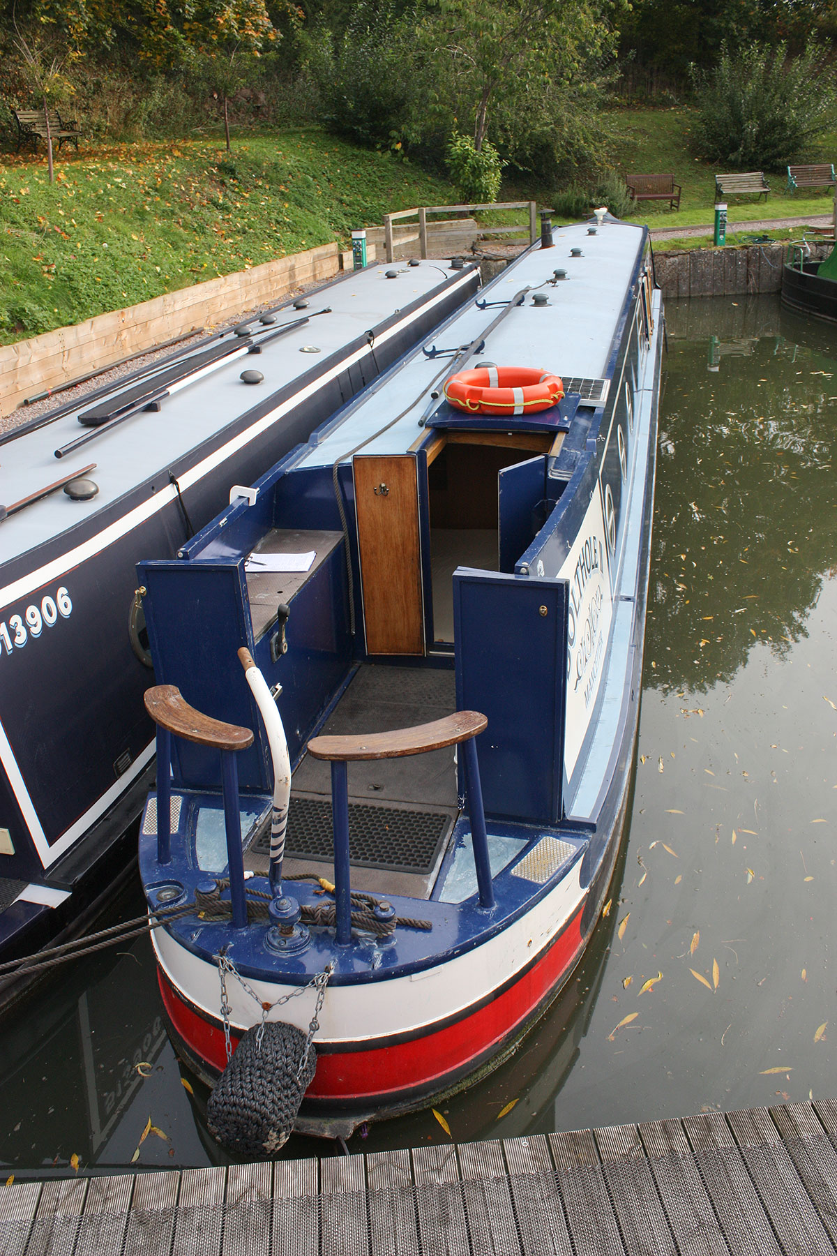 The Engine Room From Way Back: Rugby Boats