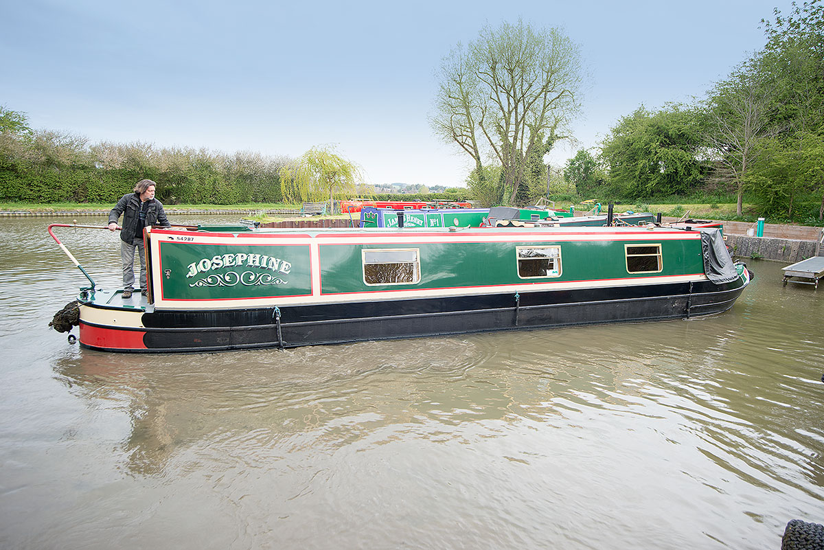 45ft trad narrowboat