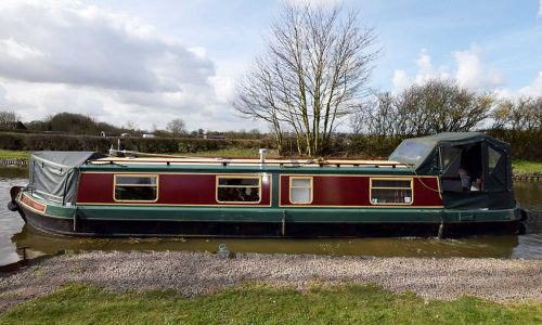 Traditional narrowboat 2006