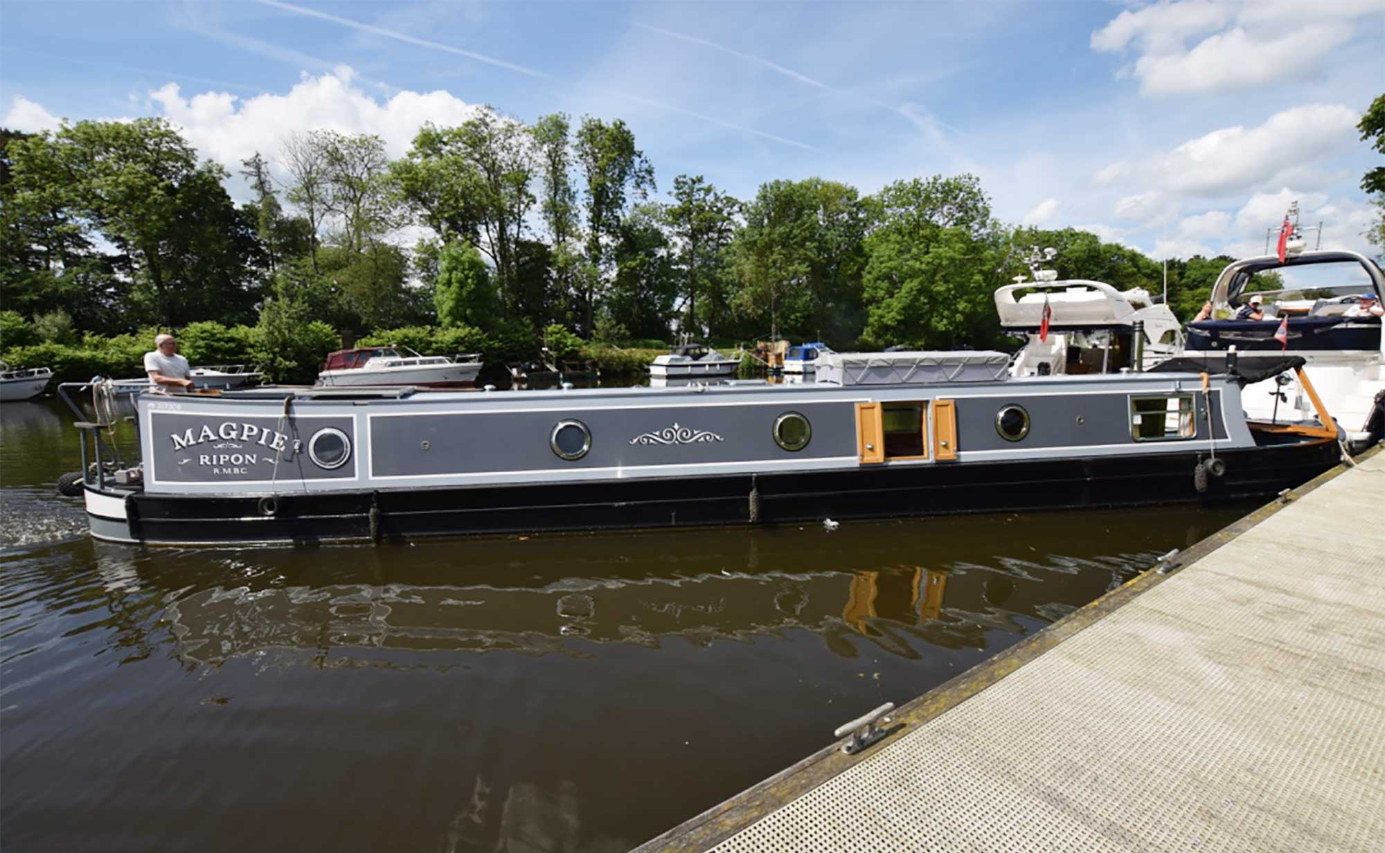 Magpie 55ft Traditional Colecraft Narrowboat 2008