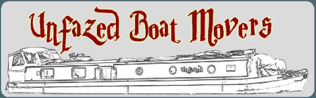 unfazed boat movers logo
